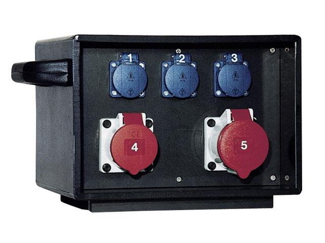 Electric Power Box : Mobile power distribution box indu electric uk