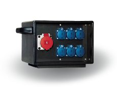 Indu Electric mobiler Stromverteiler